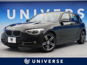 BMW 1シリーズ 120i スポーツ iDriveナビゲーションPKG プラスパッケージ バックカメラ 前席パワーシート 純正17AW