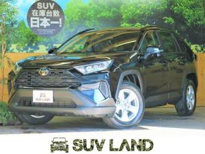 トヨタ RAV4 X 新型ディスプレイオーディオ 登録済未使用車 バックカメラ トヨタセーフティセンス レーダークルーズコントロール LEDヘッドランプ クリアランスソナー 純正17アルミ