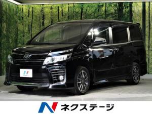トヨタ ヴォクシー ZS 煌 BIG-X10型ナビ フリップダウンモニター 両側電動スライド セーフティセンス LEDヘッド スマートキー&プッシュスタート 純正16AW デュアルオートエアコン