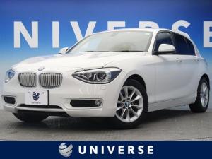 BMW 1シリーズ 116i スタイル パーキングサポートPKG 純正HDDナビ HIDヘッド 純正16インチAW 直列4気筒ターボエンジン 最出力136PS プライバシーガラス