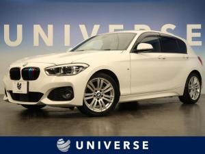 BMW 1シリーズ 118i Mスポーツ 黒革 前席シートヒーター アクティブクルーズコントロール アドバンスドパーキングサポートPKG コンフォートPKG 純正HDDナビ バックカメラ 社外フルセグ