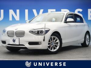 BMW 1シリーズ 116i スタイル 純正HDDナビ ミラーETC 走行9000キロ台 直列4気筒ターボエンジン 最出力136PS キセノンヘッド
