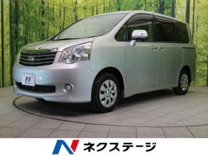 トヨタ ノア X スマートエディション 自社買取車輌 禁煙 両側電動スライド ETC スマートキー 8人乗り HID オートライト