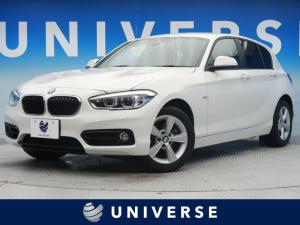BMW 1シリーズ 118i スポーツ ドライビングアシストパッケージ インテリジェントセーフティ LEDヘッドライト 純正HDDナビ クルーズコントロール