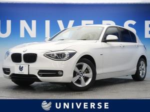 BMW 1シリーズ 116i スポーツ 純正HDDナビ DVD再生可能 バックカメラ ETC HIDヘッドライト オートライト 純正16インチAW スポーツシート(レッドステッチ入) デュアルオートAC リアパークディスタンスコントロール