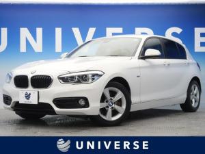 BMW 1シリーズ 118i スポーツ 衝突軽減ブレーキ 純正HDDナビ バックカメラ ミラーETC LEDヘッドライト オートライト 純正16インチAW 前席スポーツシート(レッドステッチ入り) リアパークディスタンスコントロール
