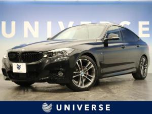BMW 3シリーズ 320iグランツーリスモ Mスポーツ 後期 アクティブクルーズコントロール 黒革シート 前席シートヒーター 純正ナビ バックカメラ 社外フルセグ 衝突軽減 パワーバックゲート 純正19インチアルミホイール LEDヘッド