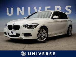 BMW 1シリーズ 120i Mスポーツ 革シートセット パーキングサポートパッケージ 黒革シート シートヒーター リアビューカメラ パークディスタンスコントロール HID コンフォートアクセス サーボトロニック ETC