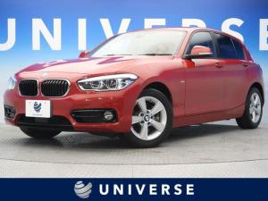 BMW 1シリーズ 118d スポーツ 純正HDDナビ パーキングサポートPKG コンフォートPKG ACC インテリジェントセーフティ 車線逸脱警告 LEDヘッドランプ