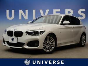BMW 1シリーズ 118d Mスポーツ コンフォートPKG パーキングサポートPKG LEDヘッドライト コンフォートアクセス デュアルオートエアコン 純正ナビ バックカメラ レーンキーピング 衝突軽減システム