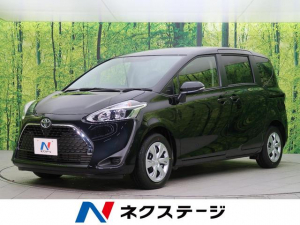 トヨタ シエンタ X 登録済み未使用車 7人乗り 電動スライド スマートキー アイドリングストップ 横滑り防止装置 ABS