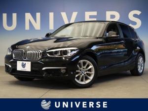 BMW 1シリーズ 118d スタイル パーキングサポートPKG 純正HDDナビ バックカメラ ミラー内蔵ETC車載器 純正16インチAW LEDヘッドライト ハーフレザーシート クルーズコントロール 禁煙車
