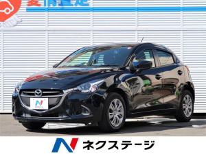 マツダ デミオ 13S 純正ナビ・禁煙車・LEDヘッドライト・ETC・ドラレコ・・フルセグTV・シートヒーター・スマートキー・Bluetooth・オートライト・アイドリングストップ