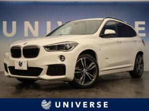 BMW X1 xDrive 18d Mスポーツ インテリジェントセーフティ 純正HDDナビ バックカメラ オプション19インチアルミホイール コンフォートアクセス