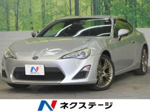 トヨタ 86 G 6速MT モデリスタ18インチアルミ HIDヘッドライト 横滑り防止装置 オートライト マニュアルエアコン キーレス カーステレオ