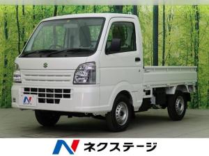 スズキ キャリイトラック KCエアコン・パワステ 4WD 届出済み未使用車 衝突安全ボディ エアコン
