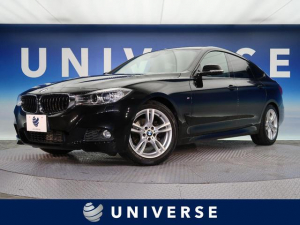 BMW 3シリーズ 320iグランツーリスモ Mスポーツ ストレージパッケージ Mスポーツエクステリア 純正18インチAW 純正HDDナビ HID 左右独立AC 衝突軽減システム ETC 禁煙車 バックカメラ