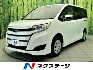 トヨタ ノア X トヨタセーフティセンス 両側電動スライドドア スマートエントリーシステム インテリジェントクリアランスソナー 登録済未使用車 LEDヘッドライト