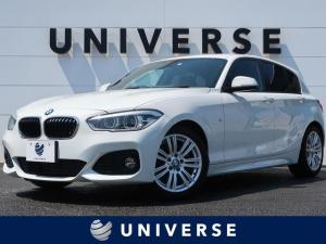 BMW 1シリーズ 118d Mスポーツ コンフォートPKG/パーキングサポートPKG 純正HDDナビ バックカメラ LEDヘッドライト 純正17インチ Mスポーツ専用アルカンターラシート ルームミラーETC