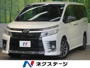 トヨタ ヴォクシー ZS 煌 BIGX10型ナビ 12.8型後席モニター セーフティセンス 両側電動スライドドア バックカメラ ETC LEDヘッドライト ドライブレコーダー