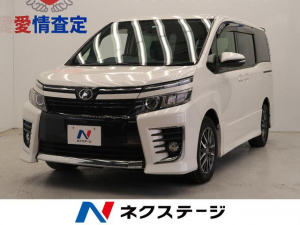 トヨタ ヴォクシー ZS 純正ナビ 両側電動 後席モニター バックモニター Bluetooth LED ETC