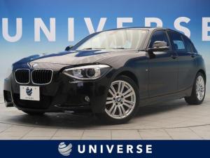BMW 1シリーズ 116i Mスポーツ 純正ナビ 地デジTV バックカメラ ヘキサゴンクロス/アルカンターラコンビスポーツシートシート Mスポーツサスペンション HID 純正17AW デュアルオートエアコン