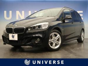 BMW 2シリーズ 218dグランツアラー Mスポーツ アドバンスドアクティブセーフティPKG アクティブクルーズコントロール ヘッドアップディスプレイ コンフォートPKG 前席シートヒーター ブラックルーフレール ディーゼル 7人乗り フルセグTV