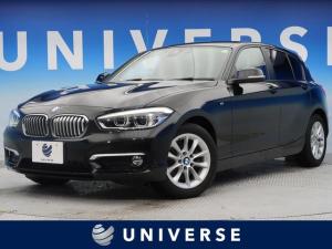 BMW 1シリーズ 118d スタイル パーキングサポートパッケージ 純正HDDナビ フルセグTV バックカメラ 衝突軽減 車線逸脱防止 クルーズコントロール LEDヘッドライト パドルシフト ハーフレザーシート 純正16インチアルミ