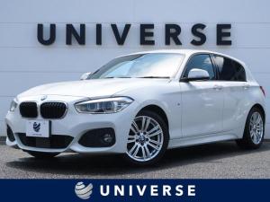 BMW 1シリーズ 118d Mスポーツ パーキングサポートPKG/コンフォートPKG/アクティブクルーズ/1オーナー 純正HDDナビ バックカメラ LEDヘッドランプ 専用17インチAW コンフォートアクセス ミラー内蔵ETC