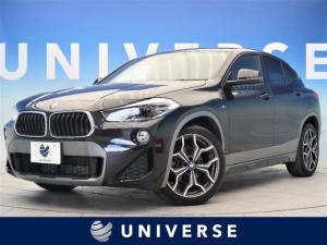 BMW X2 sDrive 18i MスポーツX コンフォートPKG パワーシート シートヒーター 純正HDDナビ バックカメラ パークディスタンス パワーバックドア 純正19AW LEDヘッド