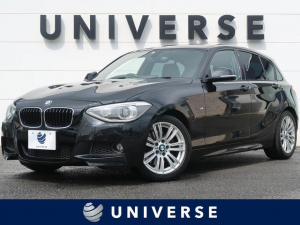 BMW 1シリーズ 116i Mスポーツ パーキングサポートPKG 純正HDDナビ フルセグTV バックカメラ HIDヘッドランプ 専用17インチAW ETC パークディスタンス