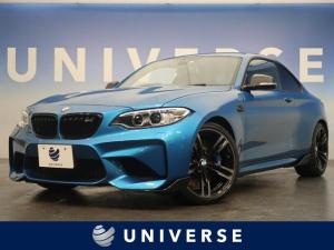 BMW M2 ベースグレード harman/kardon 黒革 シートヒーター パワーシート 純正ナビ バックカメラ