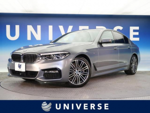 BMW 5シリーズ 523i Mスポーツ イノベーションパッケージ ハイラインパッケージ 黒革 全席シートヒーター 全周囲カメラ ACC 純正19インチアルミホイール メモリ機能付きパワーシート パワートランクリッド ミラー内蔵型ETC 禁煙