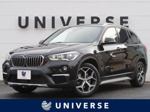 BMW X1 xDrive 18d xライン ハイラインPKG/セーフティPKG/コンフォートPKG 衝突軽減機能 アクティブクルーズ ヘッドアップディスプレイ LEDヘッドランプ 純正18インチAW 純正HDDナビ バックカメラ 電動リアゲート