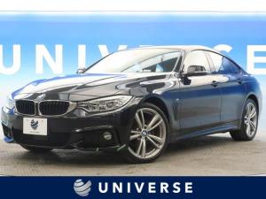 BMW 4シリーズ 420i xDriveグランクーペ Mスポーツ LEDヘッドライト 純正19インチAW ACC 衝突被害軽減ブレーキ 純正HDDナビ フルセグ バックカメラ コーナーセンサー コンフォートアクセス パワーシート パワートランク 1オーナー
