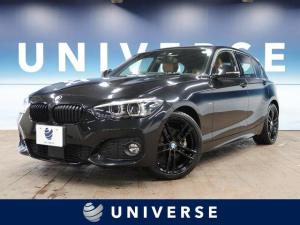 BMW 1シリーズ 118i Mスポーツ エディションシャドー 特別仕様車 ACC パーキングサポート/コンフォート/ドライビングアシストPKG コニャックダコタレザー LEDヘッド/フォグ 純正ナビ Bカメラ 純正18インチブラックAW