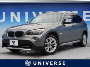 BMW X1 sDrive 18i 社外HDDナビ 赤革シート 地デジTV HIDヘッドライト 純正15インチアルミホイール Bluetooth オートエアコン オートライト コンフォートアクセス デュアルオートエアコン ETC