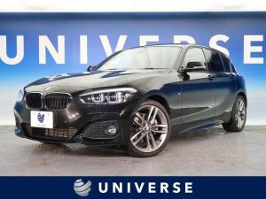 BMW 1シリーズ 118d Mスポーツ パーキングサポートPKG OP18インチAW 純正HDDナビ バックカメラ クルーズコントロール LEDヘッドライト メモリー付パワーシート オートエアコン