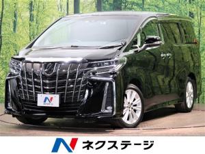 トヨタ アルファード 2.5S 純正10型SDナビ フリップダウンモニター セーフティセンス レーダークルーズ 7人乗り LEDヘッドライト 両側電動スライドドア 純正18インチAW