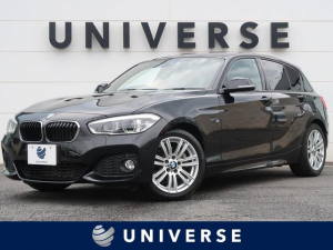 BMW 1シリーズ 118d Mスポーツ パーキングサポートPKG/コンフォートPKG 純正HDDナビ バックカメラ LEDヘッドランプ 専用17インチAW コンフォートアクセス ミラー内蔵ETC