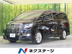 トヨタ アルファード 2.5S 純正10型ナビ フリップダウンモニター 両側電動スライド LEDヘッドライト クリアランスソナー 純正18AW Wオートエアコン 電動パーキングブレーキ オットマンシート