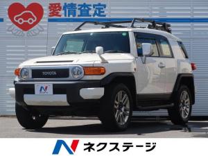 トヨタ FJクルーザー ベースグレード SDナビ・バックカメラ・クリアランスソナー・禁煙車・ETC・純正オプション20インチアルミホイール・LEDヘッドライト・フルセグTV・A-TRACK・ステリモ・Bluetooth接続・4WD