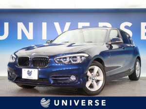 BMW 1シリーズ 118i スポーツ パーキングサポートPKG 純正ナビ リアカメラ コーナーセンサー LEDヘッドライト ETC クルーズコントロール キーレスエントリー Bluetooth接続 ターボ 禁煙車