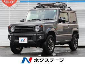 スズキ ジムニー XC 純正8型ナビ・衝突被害軽減・シートヒーター・禁煙車・ルーフラック・ETC・クルコン・フルセグTV・LEDヘッドライト・スマートキー・オートライト・ワンオーナー・Bluetooth接続・ターボ・4WD
