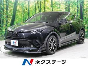 トヨタ C-HR G-T LEDエディション 4WD ターボ モデリスタエアロ 純正8型ナビ シーケンシャルターンランプ レーダークルーズコントロール LEDヘッドライト 禁煙車 バックモニター コーナーセンサー オートライト スマートキー