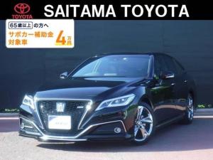 トヨタ クラウン RS サンルーフ SDナビフルセグTV LEDヘッドライト付