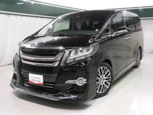 トヨタ アルファード 2.5S Cパッケージ サンルーフ本革電動シート後席モニタ