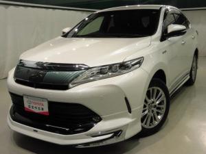 トヨタ ハリアーハイブリッド エレガンス 4WD モデリスタフルエアロ メーカーナビ