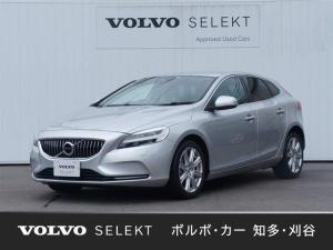 ボルボ V40 T3 インスクリプション 正規認定中古車 本革シート