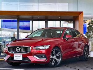 ボルボ S60 T5 インスクリプション 2020年モデル 登録済み未使用車 禁煙車 本革シート シートエアコン